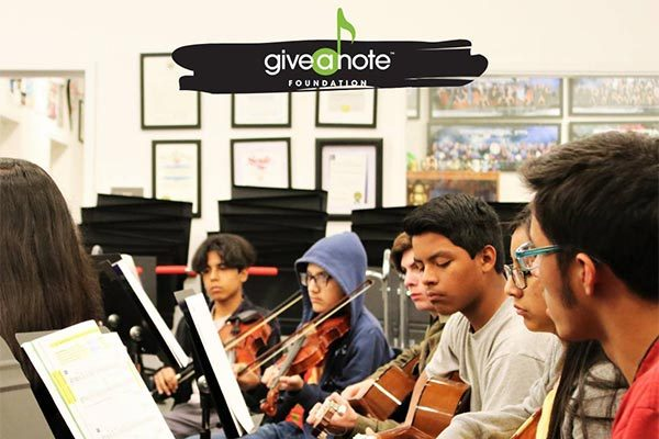 charity - give a note 1f